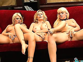 Three Sexual Caucasian Beauties Love Pleasing Each Other And They Are Sexy Af