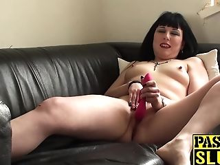Black Haired Bimbo Wants To Attempt Something Fresh And Bizarre