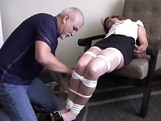 Annabelle Tied Up And Ball-gagged Gnd