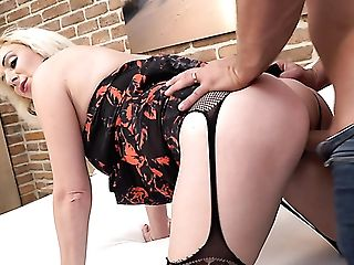 Wearing Sexy Underwear Blonde Matures Whore Is Ready To Rail Strong Chisel