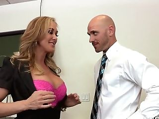 Brandi Love Doesn't Perceive Right About Johnny Sins' Baton