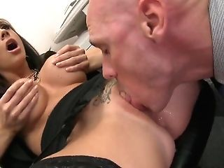 Sweet Office Fuck With Chanel Preston And Johnny