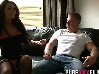 Juggy Whore Wifey Brooklyn Blue Gives A Splendid Deep Throat And Gets Her Muff Slammed