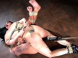 Felony & Cherries Jubalie In Subjugation To Anguish..... Cherries & Felony  - Frog-tied