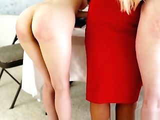 Teenage Mormon Duo Spanked And Frigged