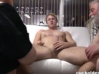 Old Perv Wants To Hotwife His Huge-chested Wifey