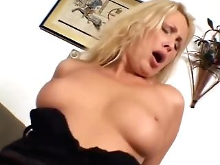 Blonde-mummy Takes Two Big Black Cock - Ultra-kinky Risque