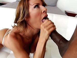 Jaw Pulling Down Milky Mummy Alexis Fawx Takes A Giant Black Dick In Her Bunghole