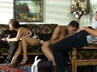 Stunning Four Way With An Black Mummy And Her Hot Friend