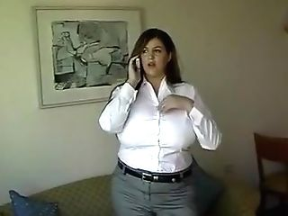 Crazy Homemade Brown-haired, Big Tits Fuck-fest Clip