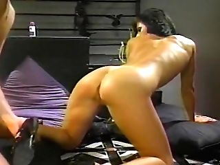Stern Mistress Fucks Her Masculine Obedient