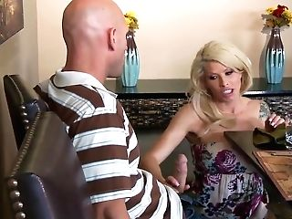Cougar Brooke Haven Enjoyments Super-sexy Johnny Sins