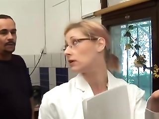 Nice Kitchen Romp With Hot German Housewife