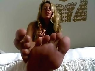 German Cougar Humilat You Feet Point Of View