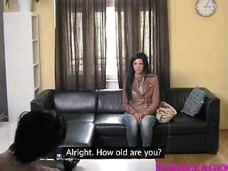 Femaleagent Hd Never Been Smooched
