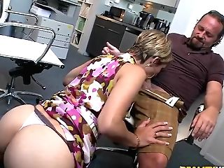 Hot Assistant Is Sucking A Sweet Dick