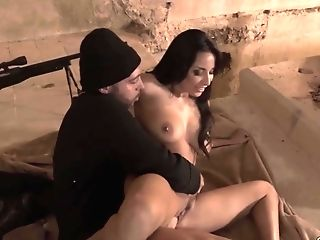 Captivating Cougar With Utter Natural Milk Cans Anissa Kate Gets A Throatful Of Jizm